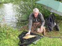 Reg with a tench