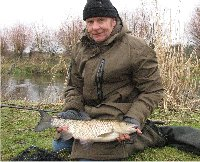Geoff Chase with a five and a half pound chub