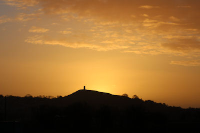 Sunrise over the Tor