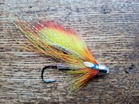 Circle hook salmon fly