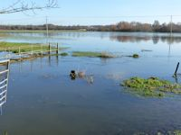 Flooded Avon Valley Path